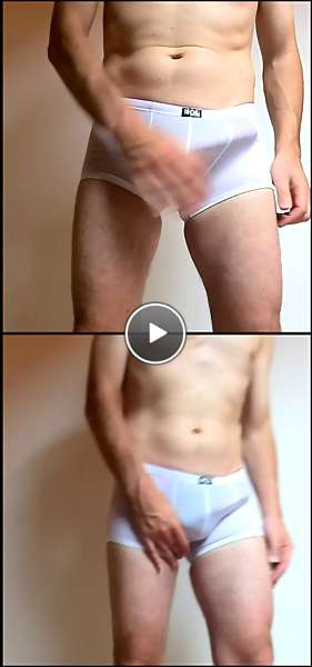 men with big cocks in underwear video
